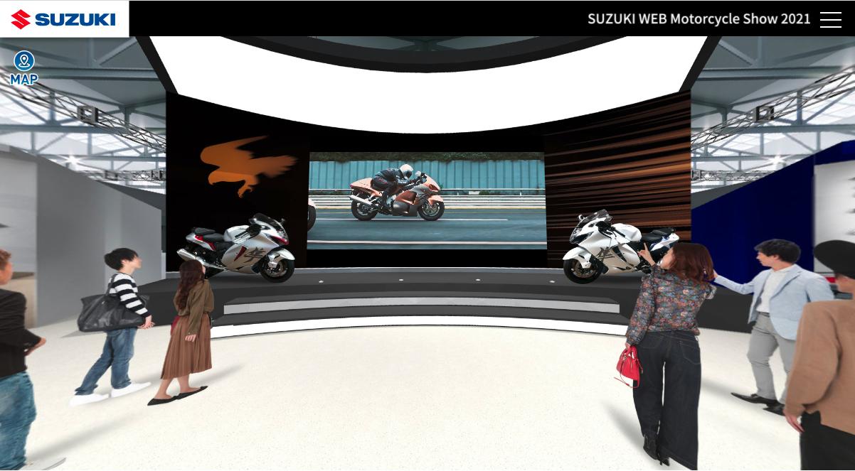 SUZUKI WEB モーターサイクルショー2021 SUZUKIがバーチャルで開催するモーターサイクルショー2021