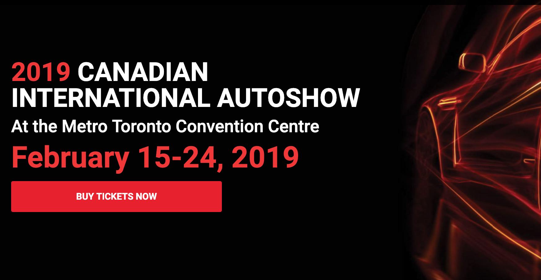 カナダ国際モーターショー2020(トロント)
