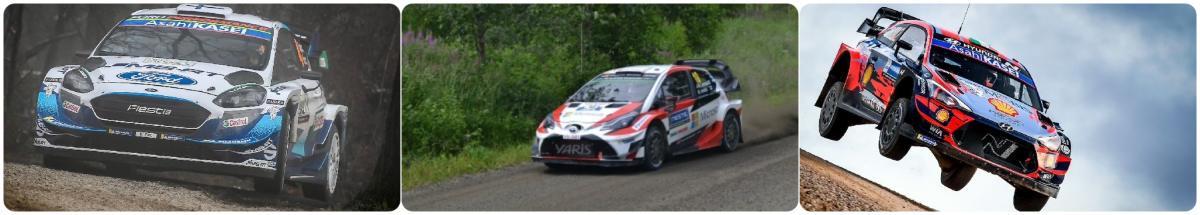 WRC第9戦ラリー・フィンランド