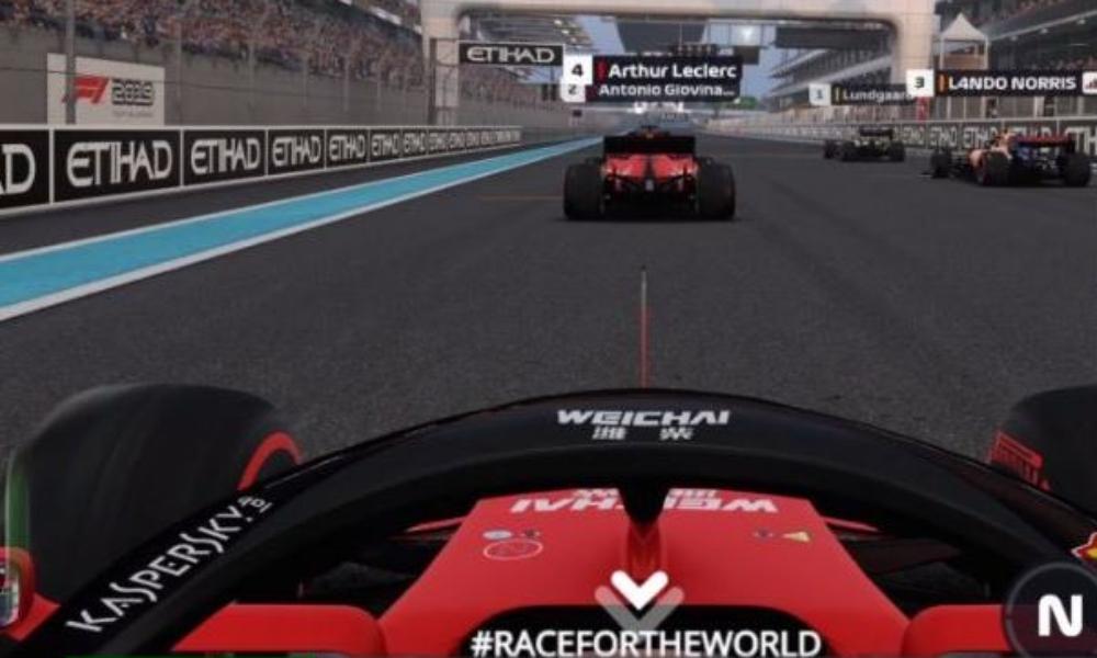 バーチャルチャリティチャンピオンシップ Race for the World