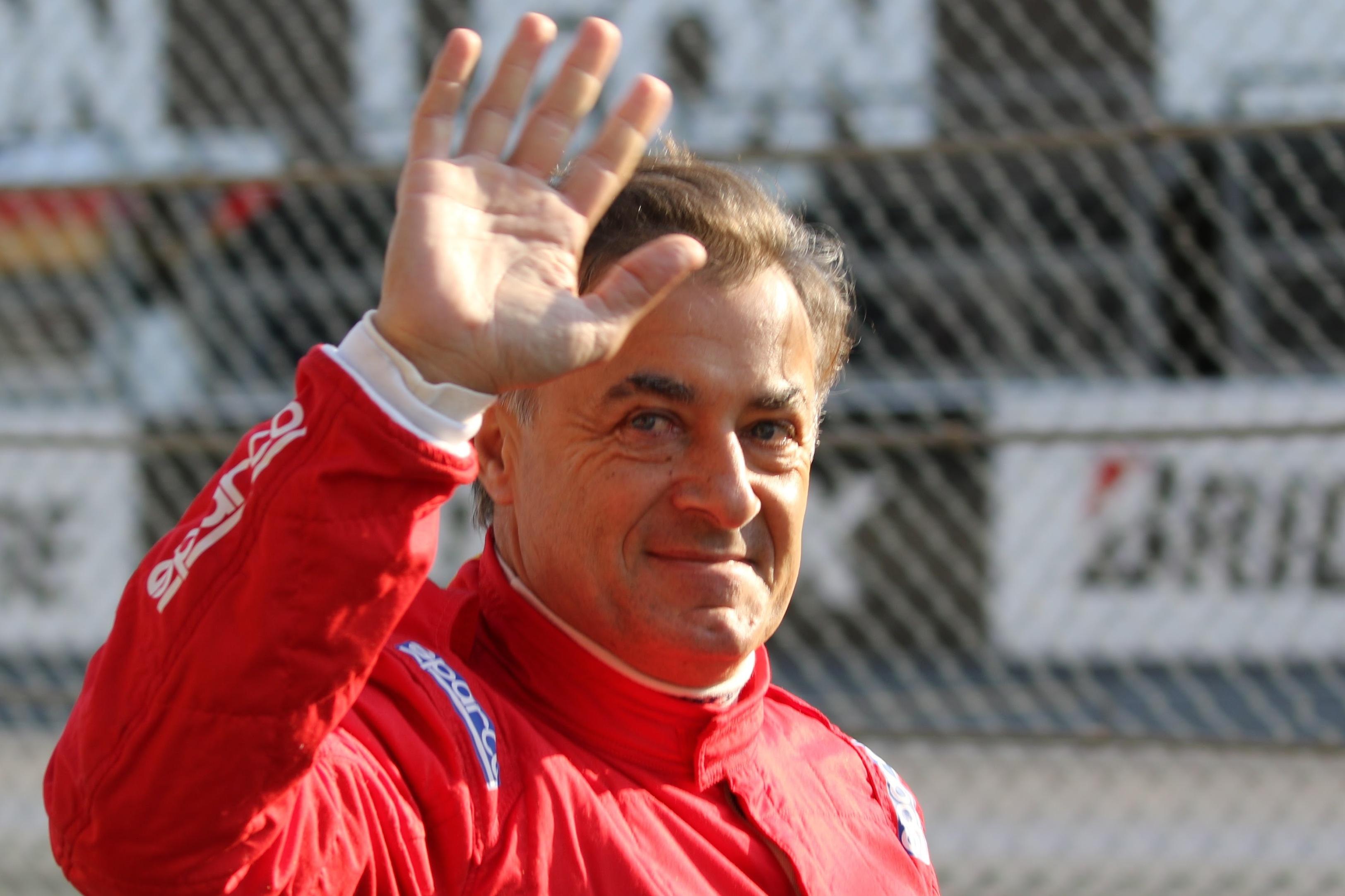 元F1ドライバーのジャン・アレジ