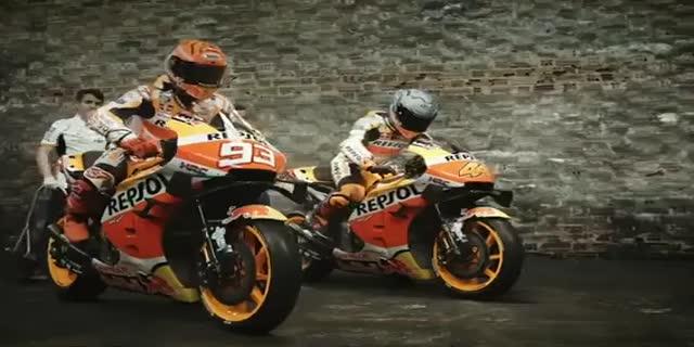 MotoGP2021年 最強チームホンダワークスのチーム体制と2021年型のRC213Vが公開!マルク・マルケスは開幕戦に間に合うのか?