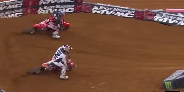 AMAスーパークロス2021第12戦アーリントン3レース結果とAMAモトクロス決勝ハイライト動画