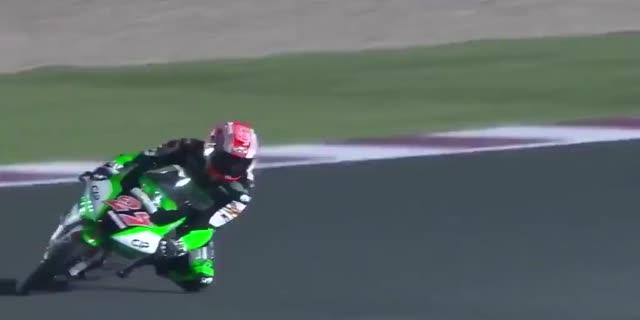 鳥羽海渡がトップ Moto3第1戦カタールGPフリー走行順位、佐々木歩夢は13位、山中琉聖、國井勇輝、鈴木竜生が参戦中
